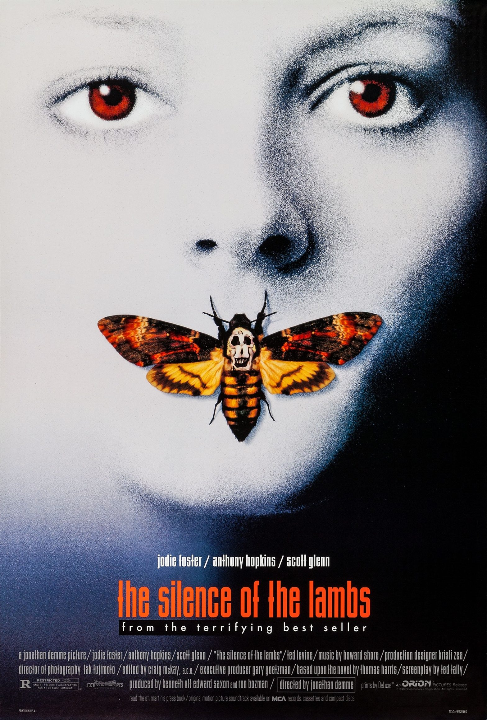 The Silence of the Lambs (1991) movie poster
